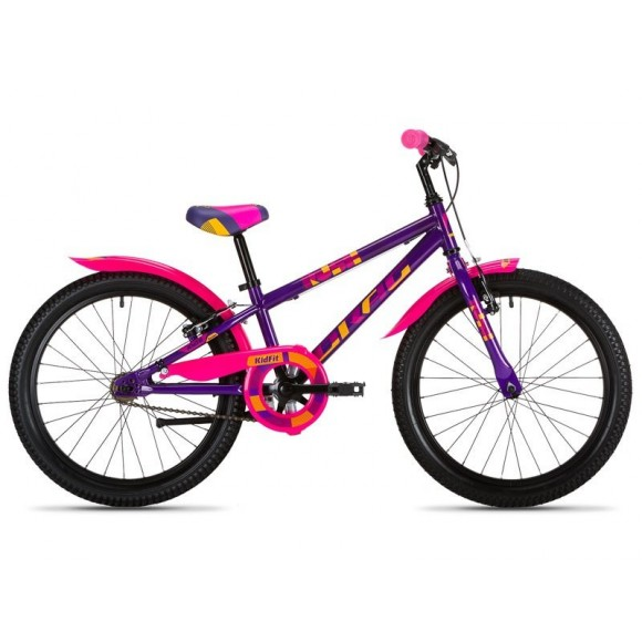 "Bicicleta copii Drag Rush SS Purple Pink 14"""