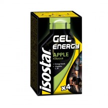 ISOSTAR ENERGY GEL APPLE, 4X35G