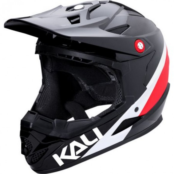 Casca Bicicleta Kali Zoka Pinner Black Red