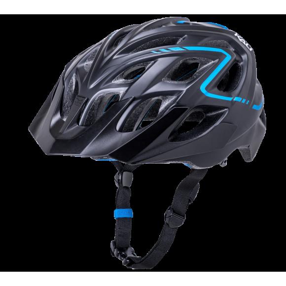 Casca Bicicleta Kali Chakra Plus Reflex Black Blue