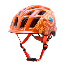 Casca Bicicleta Kali Chakra Child Tropical Orange