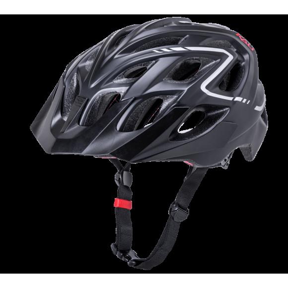 Casca Bicicleta Kali Chakra Plus Reflex Black