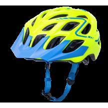 Casca Bicicleta Kali Chakra Plus Reflex Fluo Yellow Blue
