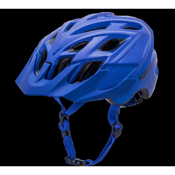 Casca Bicicleta Kali Chakra Solo Solid Blue