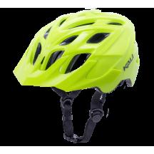 Casca Bicicleta Kali Chakra Solo Solid Fluo Yellow