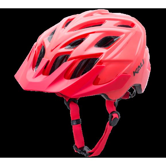 Casca Bicicleta Kali Chakra Solo Solid Red