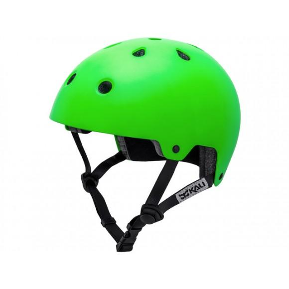 Casca Bicicleta Kali Maha Solid Hi Vision Green