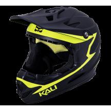 Casca Bicicleta Kali Zoka Reckoning Matte Black Fluo Yellow