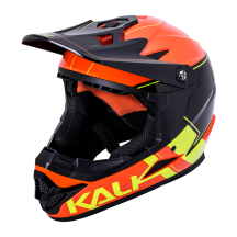 Casca Bicicleta Kali Zoka Switchback Orange Fluo Yellow Black