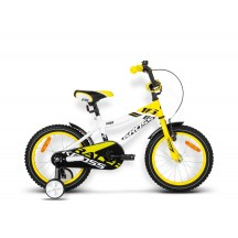 "Bicicleta Kross Racer 16"" Galben 2016"