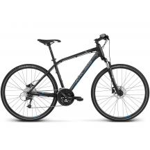 """Bicicleta Kross Evado 6.0 28"""" Negru Albastru 2018"""