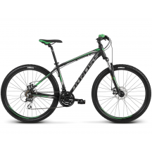 Bicicleta Kross Hexagon 4.0  Negru Verde 2018