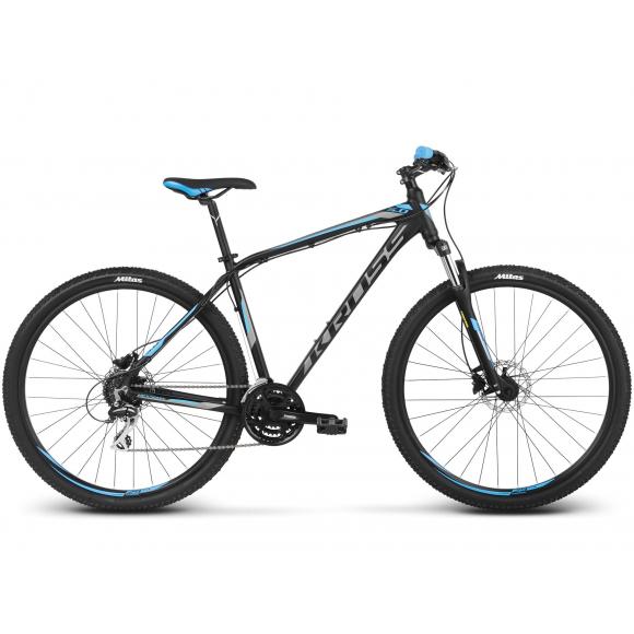 Bicicleta Kross Hexagon 5.0  Negru Albastru 2018
