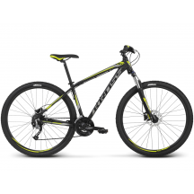 Bicicleta Kross Hexagon 6.0  Negru Verde 2018