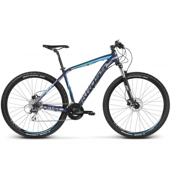 Bicicleta Kross Level 2.0  Albastru Argintiu 2018