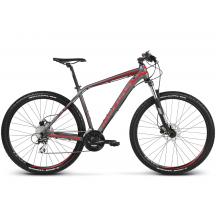 Bicicleta Kross Level 2.0  Gri Rosu 2018