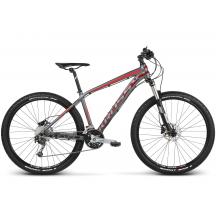 Bicicleta Kross Level 5.0  Gri Rosu 2018