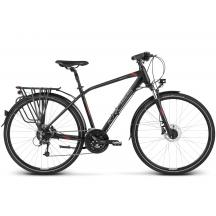 """Bicicleta Kross Trans 8.0 28"""" Negru Rosu 2018"""