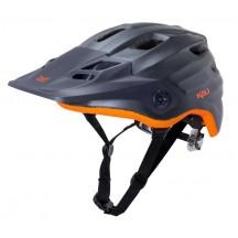 Casca Bicicleta Kali Maya Matte Gunmetal/Orange