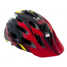 Casca Bicicleta Kali Amara Paramount Red / Black / Yellow