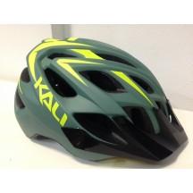 Casca Bicicleta Kali Chakra Plus Patrol Matte Olive/Lime