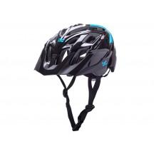 Casca Bicicleta Kali Chakra Solo Neo Black/Blue