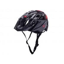 Casca Bicicleta Kali Chakra Solo Neo Black/Red