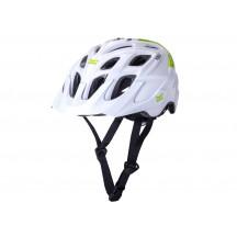 Casca Bicicleta Kali Chakra Solo Neo White/Green