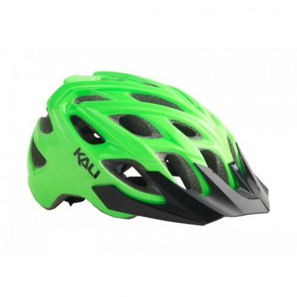 Casca Bicicleta Kali Chakra Hi Vision Green