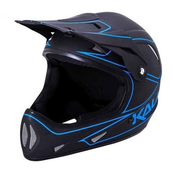 Casca Bicicleta Kali Alpine Rage Matte Black Blue