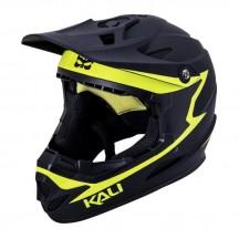 Casca Bicicleta Kali Zoka Reckoning Matt Black Fluo