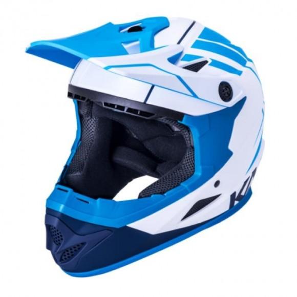 Casca Bicicleta Kali Zoka Eon Matte White Blue Navy