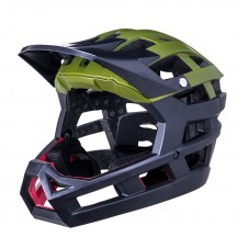 Casca Bicicleta Kali Invader Solid  Khaki Black 2020