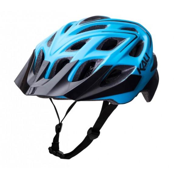 Casca Bicicleta Kali Chakra Plus Sonic Mat Black Blue
