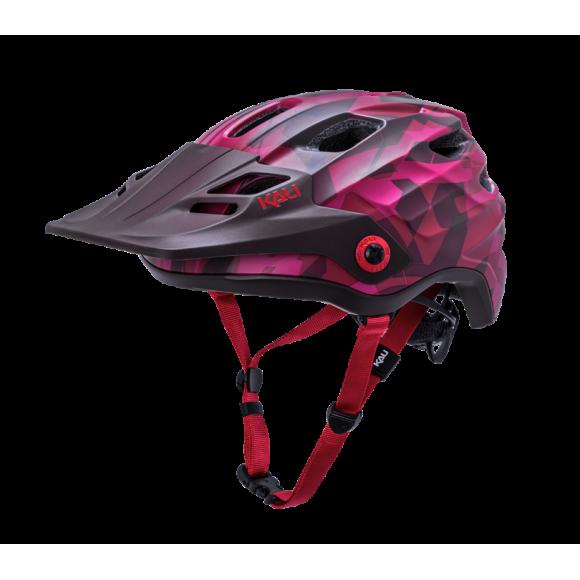 Casca Bicicleta Kali Maya 3.0 Camo Matte Red / Burgundy