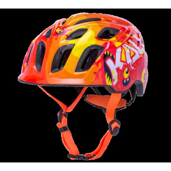 Casca Bicicleta Kali Chakra Child Monsters Orange 2020