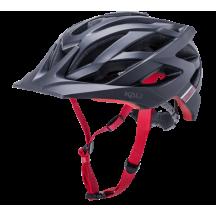 Casca Bicicleta Kali Lunati Sync - Matte Black Red 2020