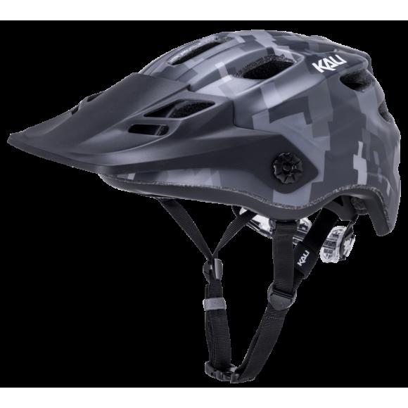 Casca Bicicleta Kali Maya 2.0 Pixel Matte Black 2020