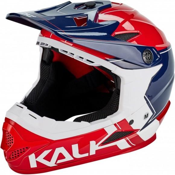 Casca Bicicleta Kali Zoka Switchback Red White Blue