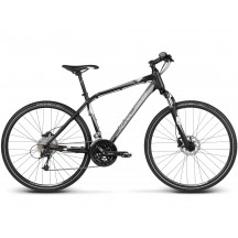Bicicleta Kross Evado 5.0 Negru Argintiu 2017