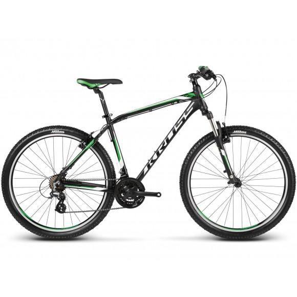 Bicicleta Kross Hexagon R2 Negru Verde Alb 2017