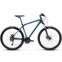 Bicicleta Kross Hexagon R6 Negru Albastru 2017