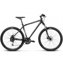 Bicicleta Kross Hexagon R8 Negru Grafit Argintiu 2017