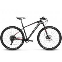 Bicicleta Kross Level B11 Negru Gri Rosu Mat 2017