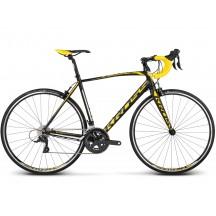 Bicicleta Kross Vento 3.0 Negru Galben Alb 2017