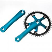 Angrenaj Bicicleta M-Wave Single Speed Anodizat
