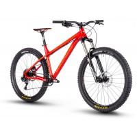 "Bicicleta Nukeproof Scout Race 27.5"" Burgundy Orange 2018"