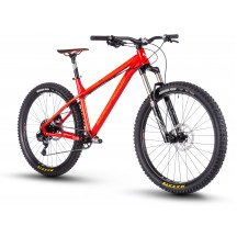 "Bicicleta Nukeproof Scout Race 27.5"" Burgundy Orange 2018"