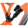 Cadru Nukeproof Mega 27.5 Carbon Orange Grey 2018