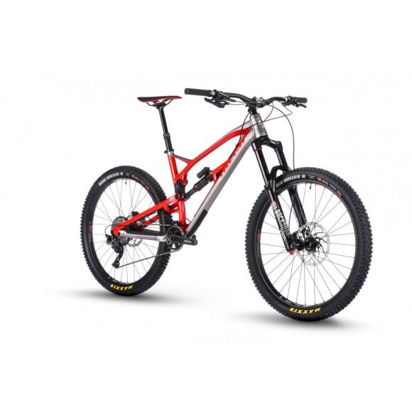 Bicicleta Nukeproof Mega 27.5 Comp Red Silver 2018